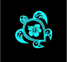 Excited To Share This Sea Turtle Decal Hibiscus Sea Turtle Vinyl Decal Car Decal Truck Decal Window Decal Custom In 2020 Sea Turtle Decal Car Decals Vinyl Floral Decal