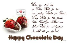 happy chocolate day wish pictures and images
