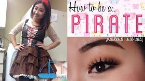 how to do pirate makeup for halloween