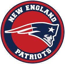 New England Patriots Circle Logo Vinyl ...