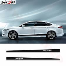 Sport Stripes Stickers Auto Body Door Decor Decals Car Side Stripes Skirt Vinyl Decal For Ford Mondeo Mk3 Mk4 Mk5 Car Sticker Car Stickers Aliexpress