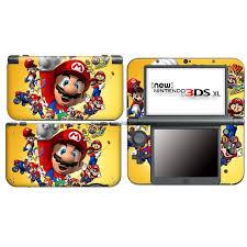Super Mario Vinyl Decal Skin Sticker Case Cover For Nintendo New 3ds Xl Ll Nl13 Ebay