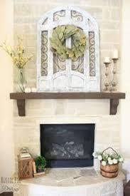 farmhouse mantel decorating ideas