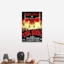 Shop King Kong 1933 Canvas Wall Art Overstock 24135012