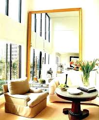 large mirrors for living room wall