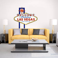 Welcome To Fabulous Las Vegas Printed Wall Decal