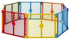 Portable Indoor Outdoor 8 Panel Safety Pet Dog Baby Toddler Play Gate Fence Baby Play Yard Baby Playpen Play Yard