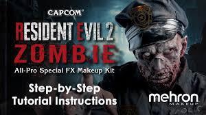 resident evil 2 zombie makeup kit