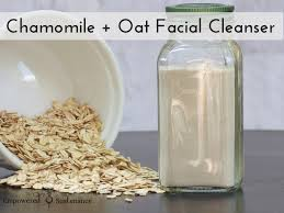 soothing oat cleanser recipe