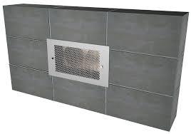c cinder block fan