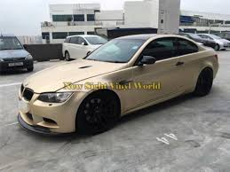2020 High Quality Matte Chrome Metallic Champagne Gold Vinyl Wrap Film Roll Bubble Free For Car Wrapping From Newsight Vinyl World 178 3 Dhgate Com