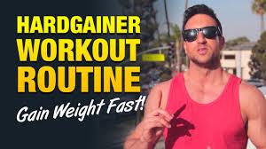 hardgainer workout routine