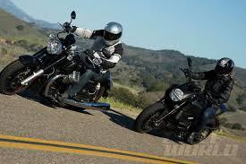 vs moto guzzi cruiser parison test
