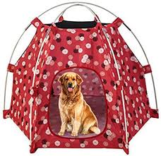 Runng Portable Dog Cat Outdoor Folding Tent Camping Mesh Playpen Fun Carry Playpen Puppy Kennel Fence Outdoor Pet Supplies Dog Cat Tent Camping Beach Sun Shelter Amazon Co Uk Kitchen Home
