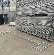 6 Ft X 12 Ft Portable Galvanised Chain Link Temporary Fence Panel Mobile Fence Panel Buy 6 Ft X 12 Ft Mobile Fence Panel Galvanised Temporary Mobile Fence Panel Mobile Fence Panel