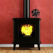 stove fan wood log burner fireplace