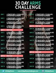 the 30 day arm challenge