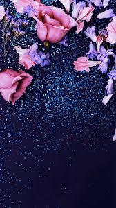 flower glitter iphone wallpapers top