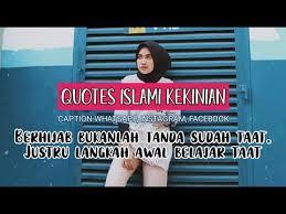 kumpulan kata kata islami wanita berhijab buat memotivasi diri
