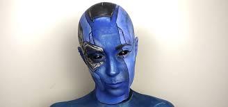 bald blue as nebula