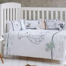 fascinating classic pooh crib bedding