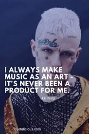 inspiring lil peep quotes and sayings on music love images
