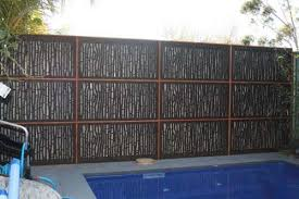 Screening Over Existing Fences Brick Fence Cheap Fence Fence Landscaping