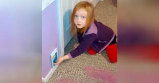 Daughter Suddenly Finds A Tiny Door In The Bedroom Wall Then Mom Tells Her To Open It