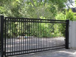Arbor Fence Inc A Diamond Certified Company Driveway Gate Fence Gate Design Iron Gates Driveway