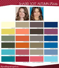 soft autumn color palette makeup