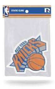 Brand New New York Knicks Shape Cut Static Car Auto Decal Sticker Nba Logo 4x4 Ebay