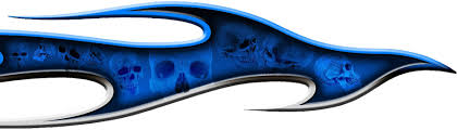 Inflame Skulls Auto Decals Xtreme Digital Graphix