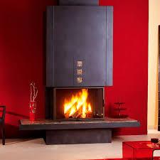metal fireplace surround paint ideas