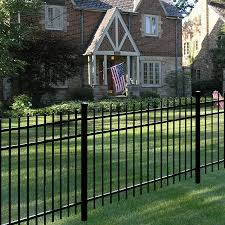 Providence Aluminum Fence Panel Aluminum Fence Freedom Outdoor Living For Lowes