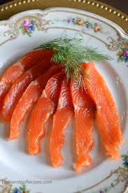 Salt Cured Salmon with Vodka, Dill and ...