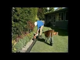 garden edging concrete diy or