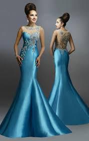 mermaid evening dresses