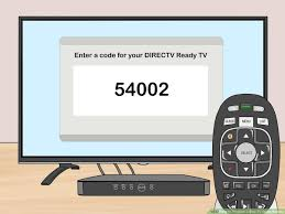program a directv genie remote