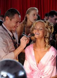vs fashion show hair makeup zimbio