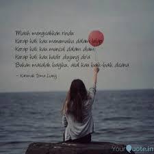 masih menyisahkan rindu quotes writings by karimah irma
