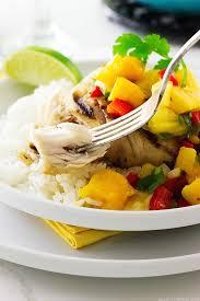 Grilled Mahi-Mahi with Mango Salsa ...