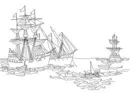 Schepen Van Columbus Kleurplaat Gratis Kleurplaten Printen