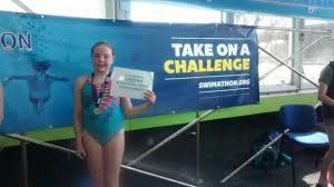 Young swimmer, Abigail Kennedy, raises hundreds of pounds for cancer  charity with 5km swim before school | Bucks Free Press
