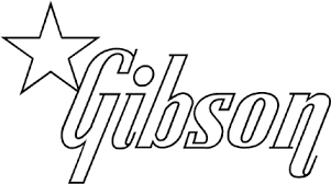 Gibson 2 Graphic Logo Decal Customized Online