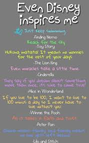 disney inspirational quotes from finding nemo toy story