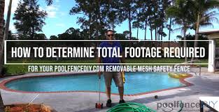 Pool Fence Diy How To Measure Your Pool For A Poolfencediy Com Removable Mesh Safety Fence Facebook