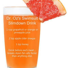 dr oz s swimsuit slimdown drink recipe