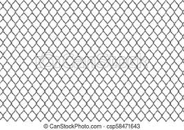 Creative Vector Illustration Of Chain Link Fence Wire Mesh Steel Metal Isolated On Transparent Background Art Design Gate