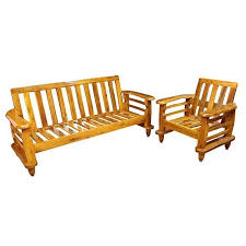 traditional teakwood sofa set with