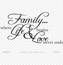 Family Sayings Png Download Bobee Family Decal Wall Sticker Quote Removable Decoratio Png Image With Transparent Background Toppng